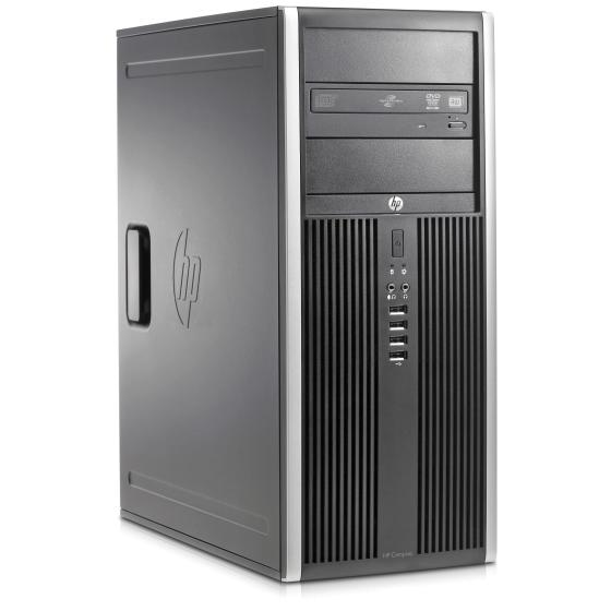 HP Compaq 8200 Elite Convertible Minitower i5-2400 (4x3.1GHz) 240GB SSD (Gebraucht) 16GB DVD Laufwerk