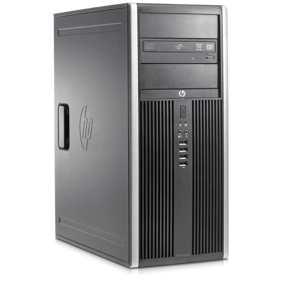 HP Compaq 8200 Elite Convertible Minitower i7-2600 (4x3.4GHz) 240GB SSD (Gebraucht) 8GB BluRay Brenner