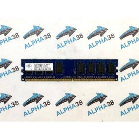Nanya 2x 1GB DDR2-667 PC2-5300 NT1GT64U8HBOBY-3C