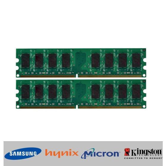 4GB (2x 2GB) Arbeitsspeicher RAM DDR3 1333 MHz PC3-10600 240-pin für INTEL + AMD