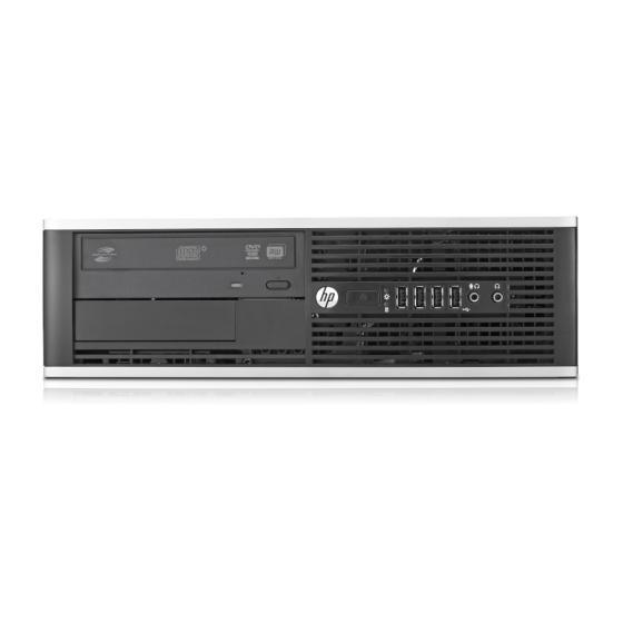 HP Compaq 8200 Elite Small Form Factor SFF Intel Core i7-2600 4x3.40 GHz 8GB DDR3 120GB SSD (Gebraucht) DVD Brenner