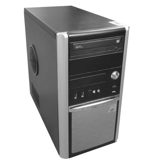 Hyundai-iTMC Pentino G-Series Tower Intel Core i3-2130 (2x3.4GHz) 8 GB DDR3 240GB (Gebraucht) DVD Laufwerk