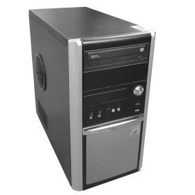 Hyundai-iTMC Pentino G-Series Tower Intel Core i5-2500 (4x3.3GHz) 8 GB DDR3 120GB (Neuware) kein Laufwerk