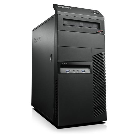 Lenovo ThinkCentre M93p Tower Intel Core i5-4460  (4x3.2GHz) 8 GB DDR3 1000GB (Neuware) DVD Brenner