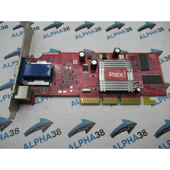 REX ATI Radeon 7000 LE 64MB GDDR  1x VGA 1x SV