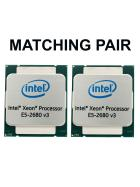2x INTEL Xeon E5-2680 v3 Matched Pair