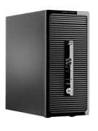 HP ProDesk 400 G2 Microtower 8GB DDR3 240GB SSD Win10 i3-4130 2x3,4GHz