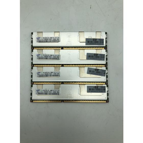 4x 4GB Samsung M393B5170EH1-CH9 ECC Server-Ram, PC3, DDR3 Speicher M393B5170EH1-CH9